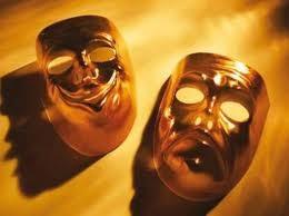 masques dorés rire pleur.jpg